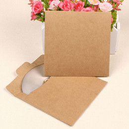 DvD cases storage online shopping - CD Case Storage Sleeves Discs DVD Photo e08 Storage Solid Greeting Cards Card Letter For Student Storage Kraft Paper