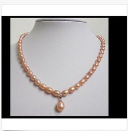 """Perfect Gold Alloys Australia - PERFECT AAA++ 11-12mm south sea baroque gold pink pearl necklace pendant 18"""""""