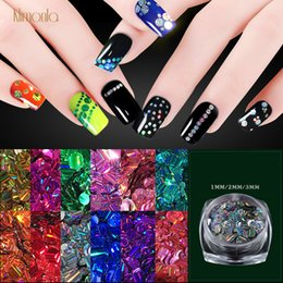 Nails Art & Tools 6pcs Stars Shape Holographic Ab Shiny Laser Nail Glitter Paillette Sequins Universe Beauty Decal Accessories Nail Decorations