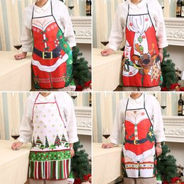 Wholesale sexy black apron for sale - Group buy 1 pC Cloth Christmas Aprons Tree Deer Sexy Leg Waistband cm Dinner Party New Year Supplies Xmas ornament