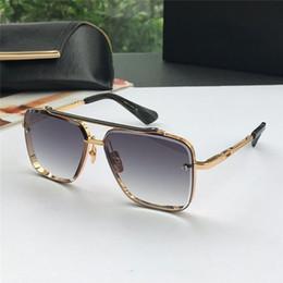 02486bcafc Las nuevas gafas de sol de lujo para hombres diseñan gafas de sol vintage  de estilo de moda sin lentes cuadradas UV 400 con caja original