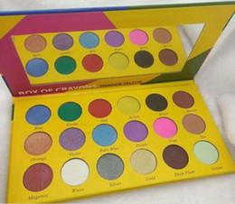 $enCountryForm.capitalKeyWord NZ - Hot Sales 18 Color Box Of Crayons Eyeshadow Palette Matte Pearlescent Eyeshadow Palette Waterproof Lasting Cosmetics