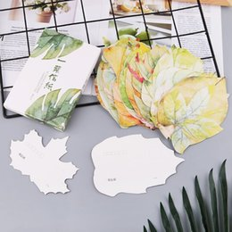 Lovely Cards Australia - 30 Sheets Lovely Leaf Postcard Letter Birthday Gift Card Wish Message Poster Cards