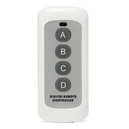 Discount battery codes - 433MHz 4 Button EV1527 Code Remote Control Switch RF Transmitter Wireless Key for Smart Home Garage Door Opener (no batt