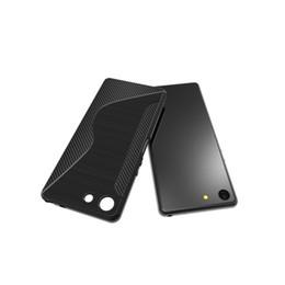 Case Tpu S Gel Australia - New Arrival S Line Brushed Silicone Soft TPU Gel Back Cover Skin Bag For Sony Xperia XZ4 Compact Phone Funda Cases