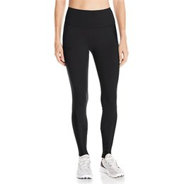 $enCountryForm.capitalKeyWord NZ - U&A Stretchy Leggings Women Quick Dry Skinny Pants Tights Sports Jogging YOGA High Waist Push Up Trousers Fitness GYM Track Pants C42305