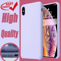 $enCountryForm.capitalKeyWord Australia - A++ High Quality Have LOGO Original Official Silicone Cases For iPhone 7 8 6s Plus Xs Max Xr X APPle Phone Case Cover