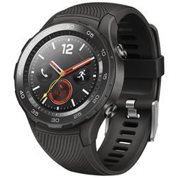 Gps Ratings Australia - Original Huawei Watch 2 Smart Watch Support LTE 4G Phone Call GPS NFC Heart Rate Monitor eSIM Wristwatch For Android iPhone Waterproof Watch