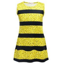 55b3d76aaf7 Ins Fashion Surprise Girls Summer Dress Women Party Dress Princess Dresses  Cosplay Clothes Kids Sleeveless Bee Dress A-line Night Club