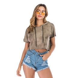$enCountryForm.capitalKeyWord Australia - Summer Designer Hoodie for Women Loose Luxury Womens Hoodies Fashion Hot Brand Short Sweat Shirts Womens Clothes High Quality S-XL