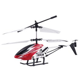 flashing helicopter toy Australia - Anti-collision 3.5CH Single Blade Large helicopter Remote Control metal RC Helicopter with Gyro RTF for kids Outdoor Flying toys