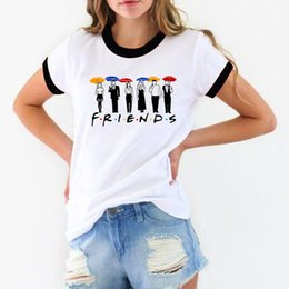 $enCountryForm.capitalKeyWord Australia - 2019 New Friends TV Show t shirt women Graphic tee shirt femme BFF T Shirts 90s tumblr tshirt best friend gift female t-shirt