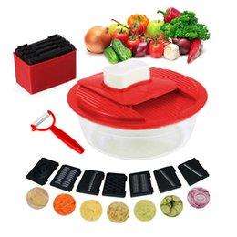 $enCountryForm.capitalKeyWord NZ - Vegetable Cutter Six blades Vegetable Slicer Stainless Steel Planing Sliced Shredded Blades Peeler Potato Kitchen Accessories