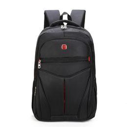 $enCountryForm.capitalKeyWord UK - New dark black exclusive men and women 15-17 inch backpack waterproof nylon laptop backpack casual male student teen