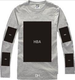 $enCountryForm.capitalKeyWord Australia - HBA Hot! mens t shirts fashion 2016 men clothing Hood by air hba x been trill kanye west long sleeve hip hop men t shirt