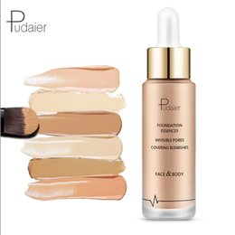 $enCountryForm.capitalKeyWord Australia - Pudaier Brand Base Foundation Face Makeup Liquid Matte Nude Make Up Concealer Cream Waterproof Natural Cosmetics Sun Block