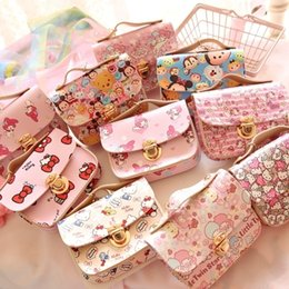 Wholesale Cartoon Cute Duffy Bear Stellalou Hello Kitty My Melody Cinnamoroll Pudding Dog Little Twin Stars Tsum Coin Purse Key Card Bag