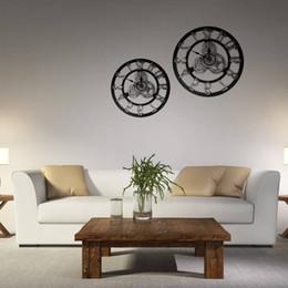 $enCountryForm.capitalKeyWord Australia - European Gear Wall Clock Originality Industry Wind Woodiness Three-dimensional Do Used Clock