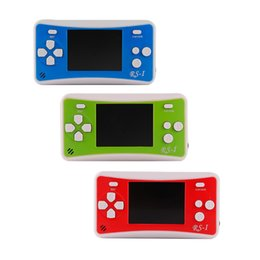 Video game consoles sales online shopping - RS Handheld Game Consoles Mini Protable Game Players Color Video Game Children Gifts Classic Games Box Also Sale PXP3 PVP GB NES SFC Games
