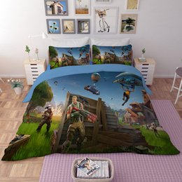 China 50% Discounted price 3d game kids boys bedding set children bed cover ps4 duvet cover single size Pillowcase bedclothes supplier ps4 prices suppliers