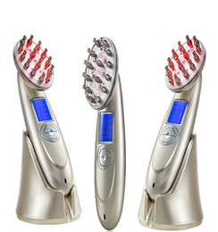 Hair Growth Combs Australia - Hair Growth Comb Head Massager Regrowth Treatment Hair Stimulating Brush Scalp Massager Electric Infrared Care Stop hair loss