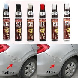 sale pens Australia - 2018 Top sale 6 Colors Auto Car Coat Paint Pen Touch Up Scratch Clear Repair Remover Remove Tool Car scratch repair pen