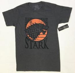"$enCountryForm.capitalKeyWord Australia - Game Of Thrones HOUSE OF STARK ""DISTRESSED DIREWOLF SIGIL"" T-Shirt NWT LicensedFunny free shipping Unisex Casual gift"