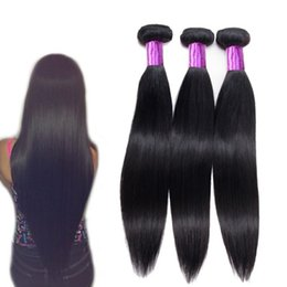 Wholesale 10A Brazilian Straight Human Hair Three Bundle in A Bag Mink Brazilian Body Wave Hair Product Human Hair Bundles Price