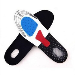 Soft Shoe Insoles Australia - Silicone Shoe Insoles Free Size Men Women Orthotic Arch Support Sport Shoe Pad Soft Running Insert Cushion