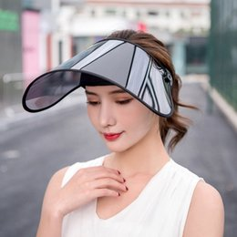 hat cars 2020 - Summer Anti-ultraviolet Anti-fog Adjustable Sun Hat Biking Cover Sun Protection Outdoor Hat Electric Car Sunhat cheap ha