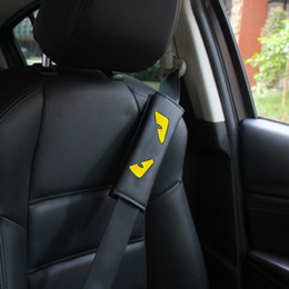 Car seats proteCtion online shopping - Little Monster Car Safety Seat Belt Shoulder Pad Auto Creative Seat Belts Soft Shoulder Harness Pillow Protection Strap Colorfull HHA399