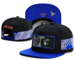 Snapback Caps For Sale Australia - hot sale CAYLER SONS ONE LOVE black blue basketball baseball caps hip hop sun hat snapback hats for men and women TYMY 365