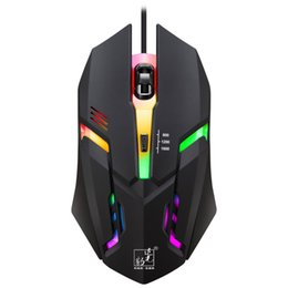 52b616c4f9d Computer mouse lights online shopping - K2 DP Adjustable Gaming Mouse wired  USB photoelectric lighting game