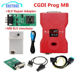 Repair Engine Australia - New Original CGDI Prog MB For Benz Key Programmer Support All Key Lost with Full Adapters ELV Repair Adapter&MB Simulator