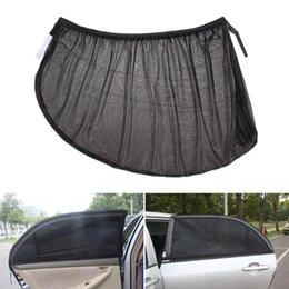 Glasses Sun Protection Australia - 2Pcs Auto Windshield Window Glass Sun Shade Mesh Accessories Car Side Rear Cover Solar UV Protection Visor Shield Sunshade