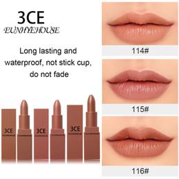 $enCountryForm.capitalKeyWord Australia - 3CE Eunhye House Lips Make up Matte Lipstick Set Moisturizing Lasting Easy Use Lip 5 Colors Lip Tint Make up Lipsticks