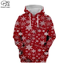 3d christmas shirts NZ - PLstar Cosmos Christmas Santa Claus 3D Printed Hoodie Sweatshirt Jacket shirts Mens Womens hiphop Tracksuit fit casual style-13