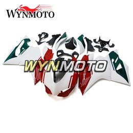 Motorcycle S Fairings NZ - Green Red Pearl White Full Fairing Kit For Ducati 899 1199 Year 2012 2013 899 1199 12 13 ABS Plastic Injection Motorcycle Cowlings Body Kts