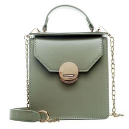 Foreign Box Australia - INS Luxury design Senior sense bag female 2019 new fashion small box chain slung shoulder bag foreign small square bag wholesale