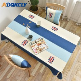 $enCountryForm.capitalKeyWord NZ - American Style Dining Tablecloth 100% Polyester Waterproof Rectangle Table Cover Decorative Kitchen Wedding Party Desk Cover