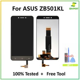 "asus zenfone screen UK - For ASUS ZenFone Live ZB501KL LCD Display Touch Screen Digitizer Assembly + Free Tools For Asus ZB501KL X00FD 5.0"" LCDs Screen"