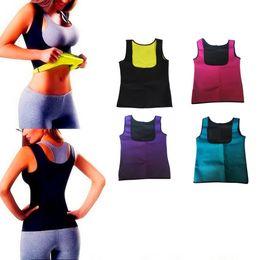 $enCountryForm.capitalKeyWord Australia - Women's Slimming Body Shaper Sport Trainer Yoga Sweat Sauna Shirt Body Shapers Shapewear Fitness Vest Top