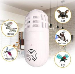 Ultrasonic pest control online shopping - Electric Atomic Insect Zapper Household Pest Killer Ultrasonic Mosquito Killer Lamp Pest Control OOA6882