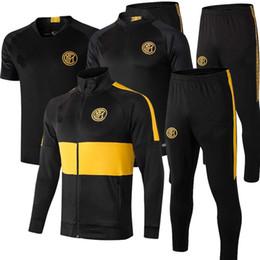 Опт 2019 2020 новый интерактивный футбольный трексуит куртки для куртки 19/20 Выжитие ICARDI CANDREVR тренировочный костюм футбольный тренер куртку