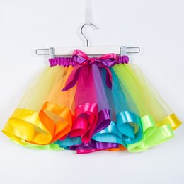$enCountryForm.capitalKeyWord Australia - Princess Tutu Puffy Skirt 13 Designs Kids Dance Dress Costume Girls Bubble Bust Skirt Party Communion Gowns 3 Pieces ePacket