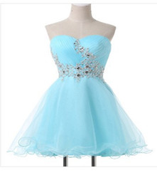$enCountryForm.capitalKeyWord UK - New Simple Cheap Short Prom Dresses With Organza Bead Plus Size Women Formal Evening Cocktail Homecoming Celebrity Party Gowns QC1458