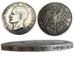 $enCountryForm.capitalKeyWord Australia - Germany German Bavaria coin 5 mark silver 1908D Otto Copy Coins Wholesale