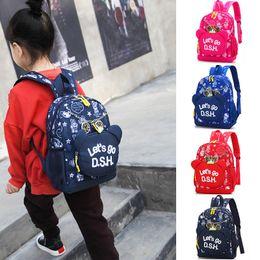 LoveLy korean cartoon girL online shopping - Charismatic2019 Bag A Children Korean Cartoon Lovely Printing Year Male Girl Baby Light Alleviate Excessive Burden Kindergarten Both