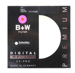 B + W 52mm 55mm 58mm 67mm 72mm 77mm 82mm XS-PRO MRC Nano UV Haze Filtro de protección ultrafino MC Filtro para lente de cámara en venta