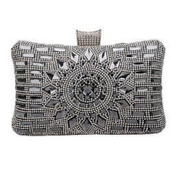 $enCountryForm.capitalKeyWord UK - Women Handbags Diamonds Clutch Evening Bags Messenger Shoulder Bags For Wedding Party Dinner Lady Small Day Clutches Sac
